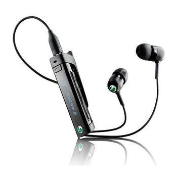 Sony Ericsson MW600 Bluetooth stereo HF s rádiem - černé
