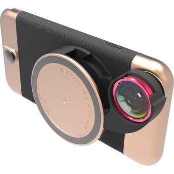 Ztylus Revolver Metal sada objektivů pro iPhone 6S Plus/6 Plus, růžovozlatý