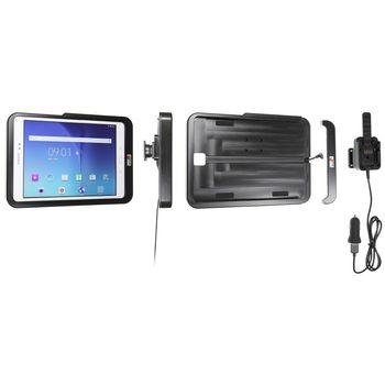 Brodit odolný držák do auta na Samsung Galaxy Tab A 9.7 bez pouzdra, s nabíjením z CL/USB