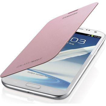 Samsung flipové pouzdro EFC-1J9FIE pro Galaxy Note II, světle růžové