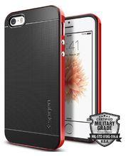 Spigen pouzdro Neo Hybrid pro iPhone SE/5s/5, červená