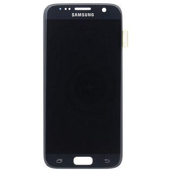 Náhradní díl LCD display + Dotyk Samsung G930 Galaxy S7 černá
