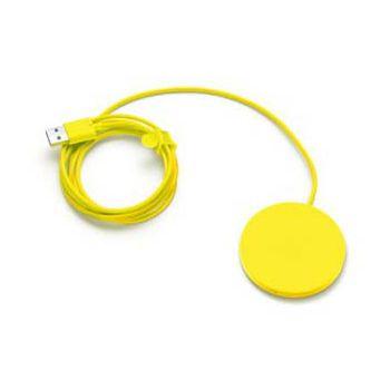 Nokia DT-601 bezdrátová nabíjecí podložka žlutá