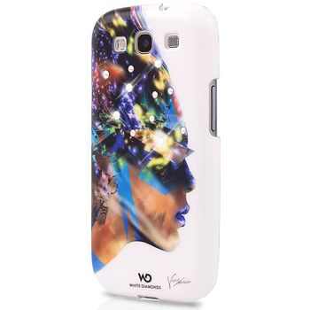 White Diamonds kryt Nafrotiti pro Samsung Galaxy S3 -bílá