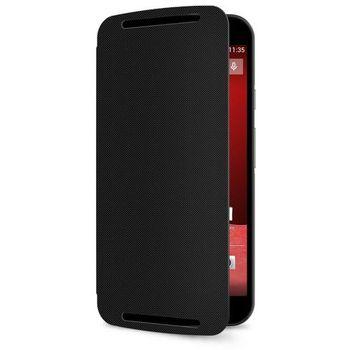 Motorola flipové pouzdro Flip Shells pro Moto G (2. generace), černá