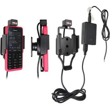 Brodit držák do auta na Nokia 301 bez pouzdra, se skrytým nabíjením
