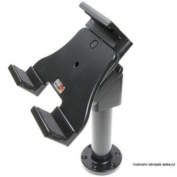 Sestava Brodit nastavitelného držáku bez nabíjení na tablet o výšce 120-150 mm s otočným podstavcem s MultiMove clipem o délce 115 mm a sklonem 45°