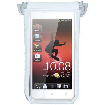"""Topeak SmartPhone Dry Bag 3""""-4"""" držák na kolo, bílá"""