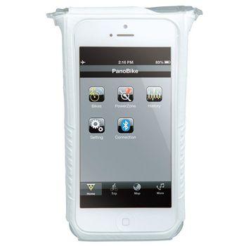 Topeak SmartPhone Dry Bag držák na kolo, pro iPhone 5 bílá
