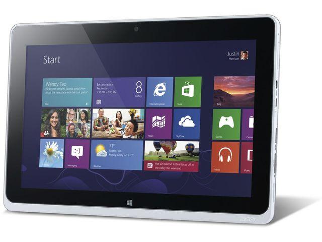 obsah balení Acer Iconia Tab W511 3G (NT.L0LEC.001)  + SanDisk ultra rychlá paměťová karta 16GB :: Užijte si rychlost