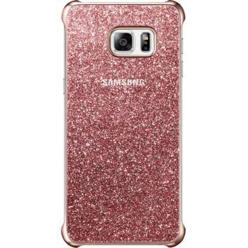 Samsung ochranný kryt Glitter Cover EF-XG928CP pro Galaxy S6 edge+ (G928), růžový