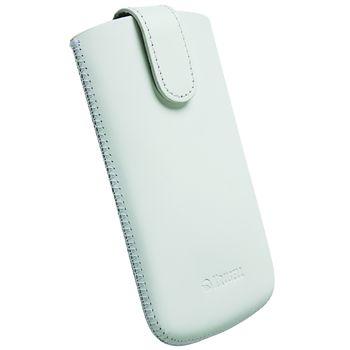 Krusell pouzdro Aspero 3XL - HTC 8X, Sony Xperia V/TX  (bílá)