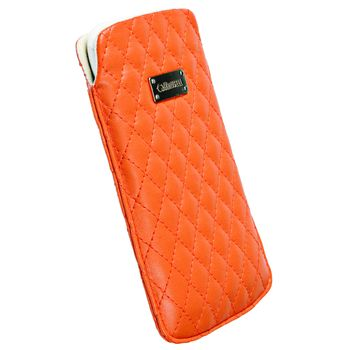 Krusell pouzdro Avenyn 3XL - HTC One X/Sensation XL, Galaxy Nexus/S II  133x71x10 mm (oranžová)