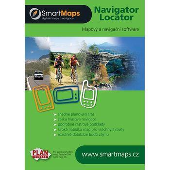 SmartMaps Locator: Praha a okolí 1:10.000 (Windows Mobile/Win CE/Symbian/Android)