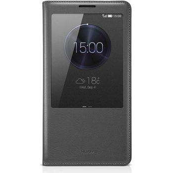Huawei View flipové pouzdro pro Mate 7, šedá
