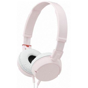 Sony uzavřená sluchákta MDR-ZX100 - růžová