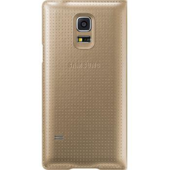 Samsung flipové pouzdro EF-FG800BD pro Galaxy S5 mini, zlaté