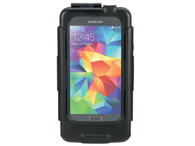 obsah balení Držák BikeConsole pro Samsung Galaxy S5 na kolo nebo motorku na řídítka pro uchycení telefonu + stylus SJ3 černý