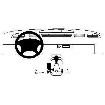 Brodit ProClip montážní konzole pro Renault Espace 97-02, na středový tunel