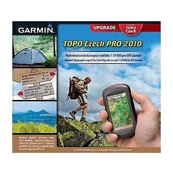 Garmin TOPO Czech 2010 PRO upgrade (z verzí 1.x,2,3.x a 2010)