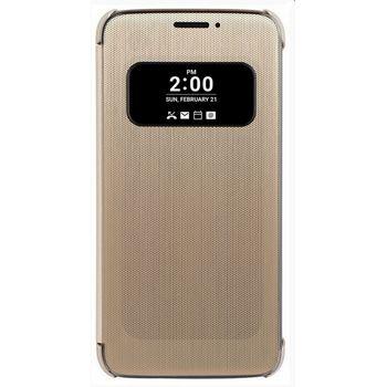 LG flipový kryt CFV-160 pro LG G5 H850, zlatý