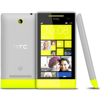 Windows Phone 8S by HTC žlutá - rozbaleno, nové, záruka 24 měsíců