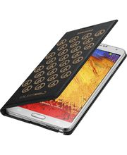 Samsung flipové pouzdro s kapsou Moschino EF-EN900BG pro Galaxy Note 3, černo zlaté