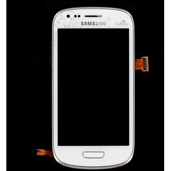 Náhradní díl LCD displej s dotyk vrstvou+ přední kryt pro Samsung i8190 Galaxy S III Mini, LaFleur