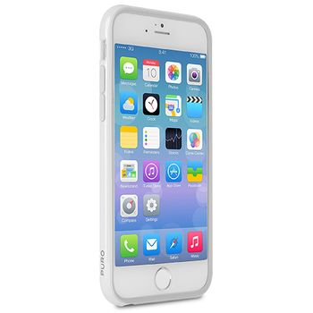 Puro ochranný rámeček Bumper Cover s fólií pro iPhone 6 plus 5.5, bílá