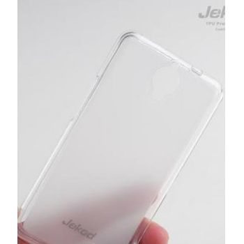Jekod TPU silikonový kryt Alcatel 6030D Idol, bílá