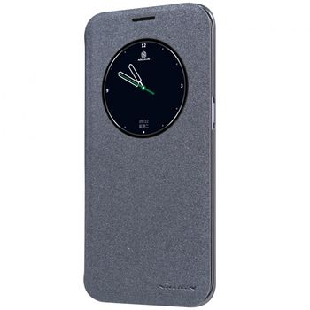 Nillkin flipové pouzdro Sparkle S-View pro Samsung Galaxy S7 edge, černé