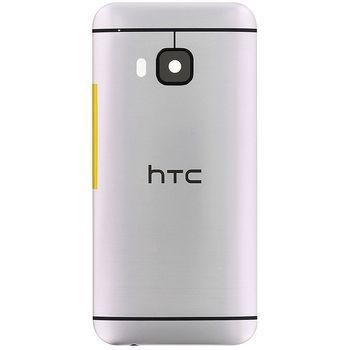 Náhradní díl na HTC ONE M9 zadní kryt stříbrný