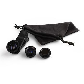 Brando 4v1 univerzální objektiv s klipem na fotoaparát