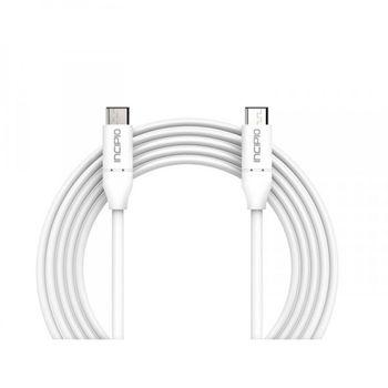 Incipio kabel Micro USB na USB-C, délka 100cm, bílý