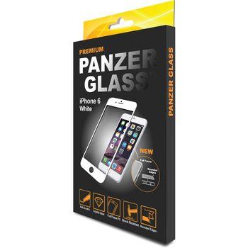 PanzerGlass Premium ochranné sklo pro iPhone 6/6S, bílá
