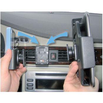 Brodit držák do auta pro Nokia Lumia 820 bez nabíjení + adaptér pro snadné odebrání držáku z proclipu