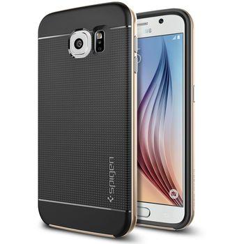 Spigen pouzdro Neo Hybrid pro Samsung Galaxy S6, zlatá