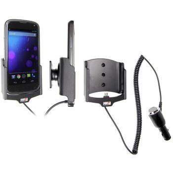 Brodit držák do auta pro LG Nexus 4 v originálním bumper obalu s nabíjením z cig. zapalovače