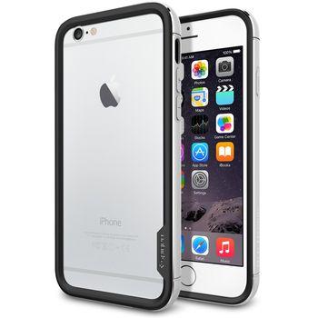 Spigen pouzdro Neo Hybrid EX Metal pro Apple iPhone 6, stříbrná