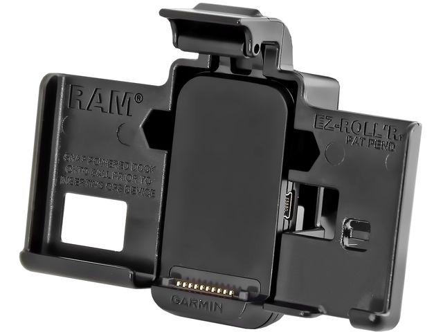 """obsah balení RAM Mounts držák na Garmin nuvi 3450, 3490, 3750, 3760, 3790 s lichoběž. adaptérem s 1"""" čepem, tvrzený plast, sestava RAP-B-GA39U"""