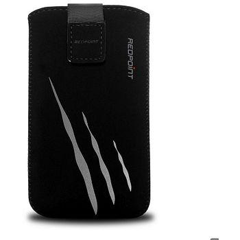 Redpoint pouzdro Velvet s motivem Gray Scratch, velikost 4XL, černá