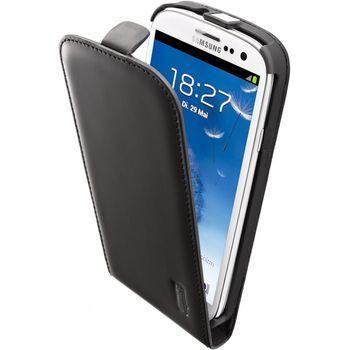 Artwizz kožené FLIP PLUS pouzdro pro Samsung Galaxy S III - matná černá