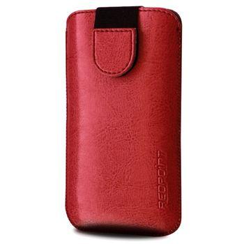 Redpoint pouzdro Soft Slim se zavíráním, velikost 5XL, červená