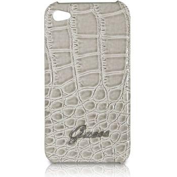 Guess Crocodile zadní kryt pro iPhone 4/4S, béžový