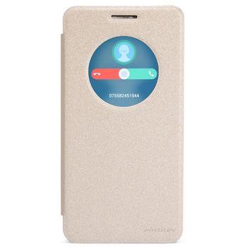 Nillkin flipové pouzdro Spark S-View pro Asus Zenfone 6, zlatá