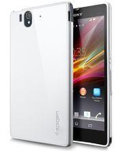 SPIGEN pouzdro Ultra Capsule pro Sony Xperia Z bílé