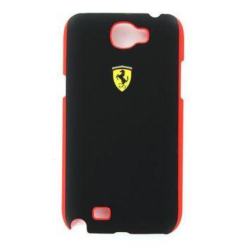 Ferrari Scuderia zadní kryt Samsung Galaxy Note II, černo-červený