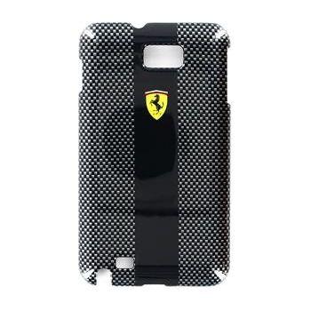 Ferrari Carbon zadní kryt N7000 Galaxy Note, černý