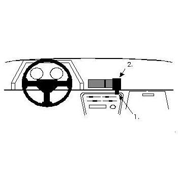 Brodit ProClip montážní konzole pro Toyota Celica 86-89, na střed