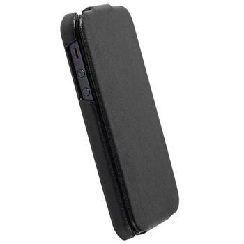 Krusell pouzdro Donsö SlimCover - Apple iPhone 5 (černá/šedá)